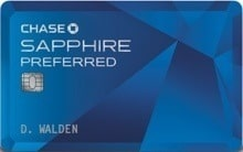 Chase Sapphire Preferred Travel Rewards Credit Card
