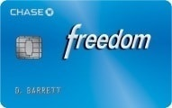 Chase Freedom Cash Back Rewards Credit Card Review