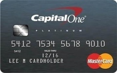 Review of Capital One Platinum Credit Card for Fair Credit