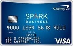 Choose Spark Miles for Business Credit Card Offer 2015