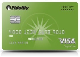 Fidelity Investment Rewards Visa Signature Card Review