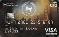 Citi® Hilton HHonorsTM Visa Signature® Card