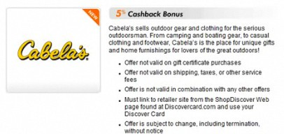 How to earn more rewards shopping at cabela's