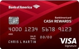Comparison of BankAmericard credit cards