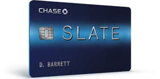 Chase Slate Credit Card needs excellent credit