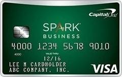 Comparison of Capital One Spark Cash Business Cards