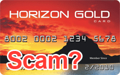 Horizon Gold word secured credit card review