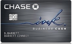 Chase Ink Business Cash New Card Deal