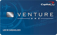 review of capitalone ventureone travel rewards credit card