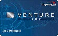 review of capitalone ventureone travel rewards credit card