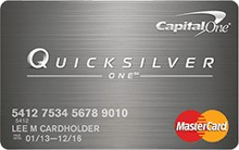 Capital One QuickSilverOne MasterCard Cash Back Card Review