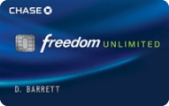 Cash back bonus offer for new Chase Freedom Unlimited