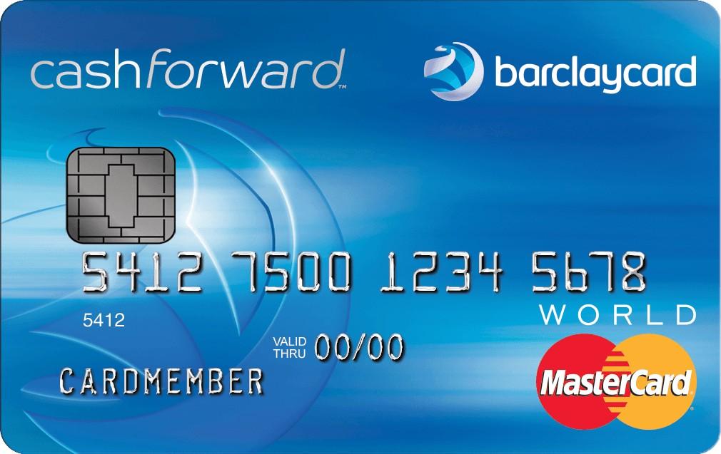 Barclaycard CashForward World MasterCard Review