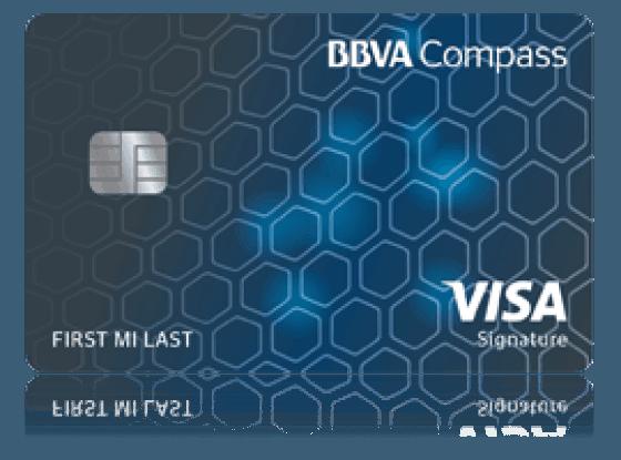 BBVA Compass Visa Signature