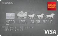 wells fargo rewards visa credit card review