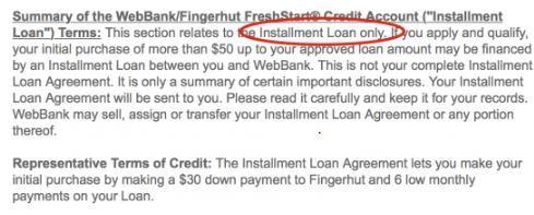 Is Fingerhut Credit Legitimate?